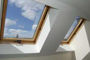 velux windows fitted in home